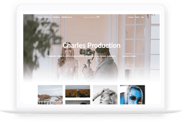 Site internet - Charles Production - charlesproduction.fr