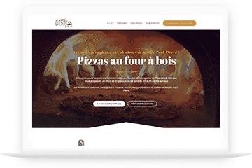 Site internet - Pizza box Le Camion