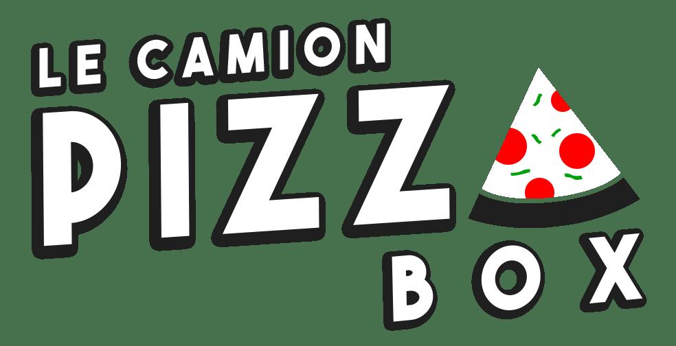 Logo Pizza box le camion - neuillé pont pierre blanc